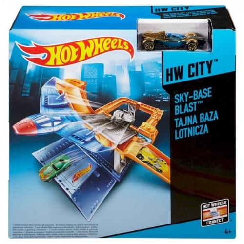 Трек Hot Wheels 'Воздушная база' Бишкек и Ош купить в магазине игрушек LEMUR.KG доставка по всему Кыргызстану