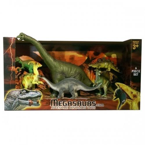 Игровой набор динозавров 6 штук (в ассорт.) Бишкек и Ош купить в магазине игрушек LEMUR.KG доставка по всему Кыргызстану