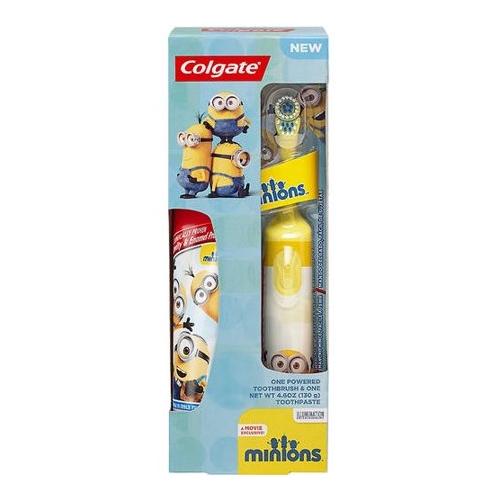 Colgate Kids Battery Powered Toothbrush Minions Бишкек и Ош купить в магазине игрушек LEMUR.KG доставка по всему Кыргызстану