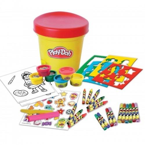 Игровой набор для творчества Play-Doh 'Необычное ведерко' Бишкек и Ош купить в магазине игрушек LEMUR.KG доставка по всему Кыргызстану