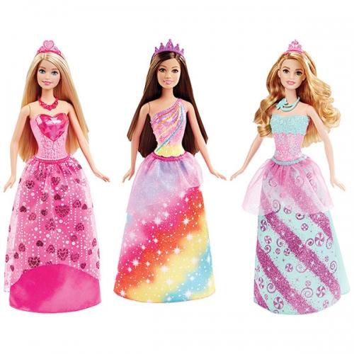 Куклы-принцессы Барби (в ассорт.) Бишкек и Ош купить в магазине игрушек LEMUR.KG доставка по всему Кыргызстану