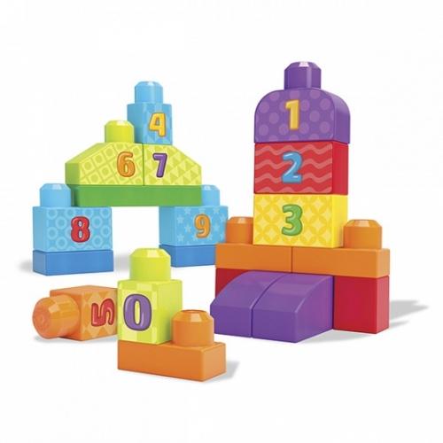 Mega Bloks Первостроители. Учимся считать Бишкек и Ош купить в магазине игрушек LEMUR.KG доставка по всему Кыргызстану