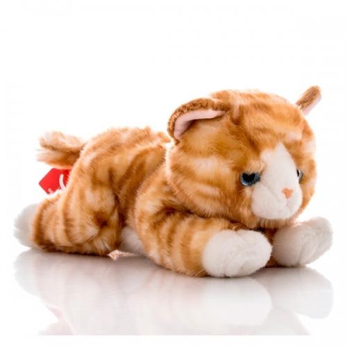 Мягкая игрушка Aurora Котенок рыжий 28 см
