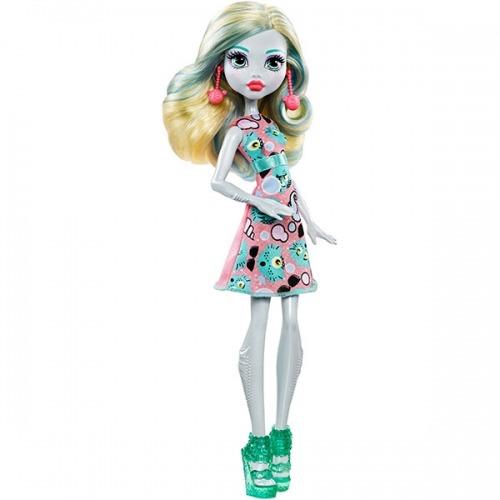Monster High Лагуна Блю 'Эмодзи' (обновленный дизайн) Бишкек и Ош купить в магазине игрушек LEMUR.KG доставка по всему Кыргызстану