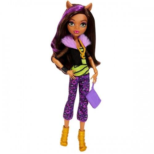 Monster High Клодин Вульф 'Первый день в школе' Бишкек и Ош купить в магазине игрушек LEMUR.KG доставка по всему Кыргызстану