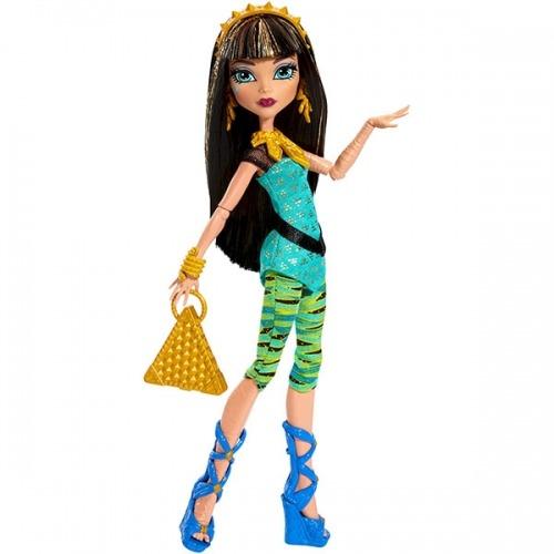 Monster High Клео де Нил 'Первый день в школе' Бишкек и Ош купить в магазине игрушек LEMUR.KG доставка по всему Кыргызстану