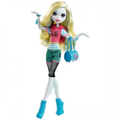 Monster High Лагуна Блю 'Первый день в школе' Бишкек и Ош купить в магазине игрушек LEMUR.KG доставка по всему Кыргызстану