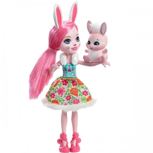 Кукла 'Энчантималс' с питомцем - Бри Кроля, 15 см Бишкек и Ош купить в магазине игрушек LEMUR.KG доставка по всему Кыргызстану