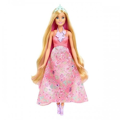 Барби Принцесса с волшебными волосами (блондинка) Бишкек и Ош купить в магазине игрушек LEMUR.KG доставка по всему Кыргызстану
