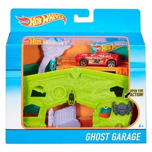 Игровой набор Hot Wheels 'Гараж с призраками' Бишкек и Ош купить в магазине игрушек LEMUR.KG доставка по всему Кыргызстану