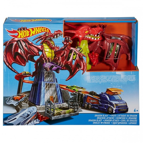 Игровой набор Hot Wheels 'Удар дракона' Бишкек и Ош купить в магазине игрушек LEMUR.KG доставка по всему Кыргызстану