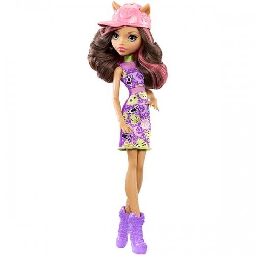 Monster High Клодин Вульф Бюджетная (обновленный дизайн) Бишкек и Ош купить в магазине игрушек LEMUR.KG доставка по всему Кыргызстану
