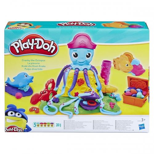 Игровой набор Плей-До 'Веселый Осьминог' Бишкек и Ош купить в магазине игрушек LEMUR.KG доставка по всему Кыргызстану