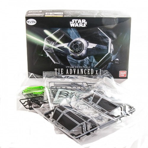 StarWars модель Истребитель TIE Advance1/72 Бишкек и Ош купить в магазине игрушек LEMUR.KG доставка по всему Кыргызстану