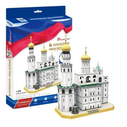 3D пазл Колокольня Ивана Великого (Россия) Бишкек и Ош купить в магазине игрушек LEMUR.KG доставка по всему Кыргызстану