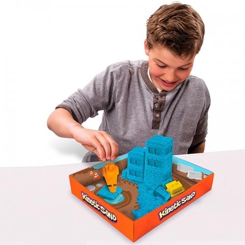 Kinetic Sand. Игровой набор c формочками, 285 грамм Бишкек и Ош купить в магазине игрушек LEMUR.KG доставка по всему Кыргызстану