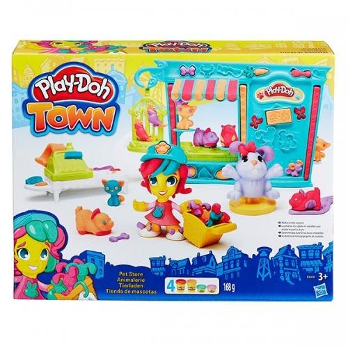 Набор Play-Doh Город 'Магазинчик домашних питомцев' Бишкек и Ош купить в магазине игрушек LEMUR.KG доставка по всему Кыргызстану