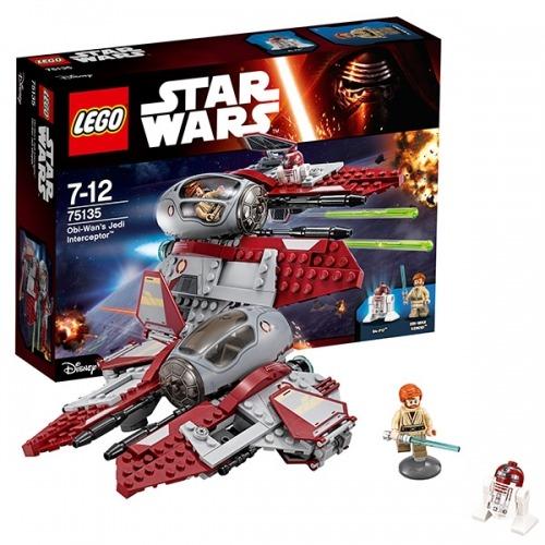 LEGO: Перехватчик джедаев Оби-Вана Кеноби Бишкек и Ош купить в магазине игрушек LEMUR.KG доставка по всему Кыргызстану