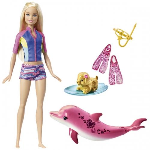 Игровой набор Барби 'Подводное плавание' Бишкек и Ош купить в магазине игрушек LEMUR.KG доставка по всему Кыргызстану