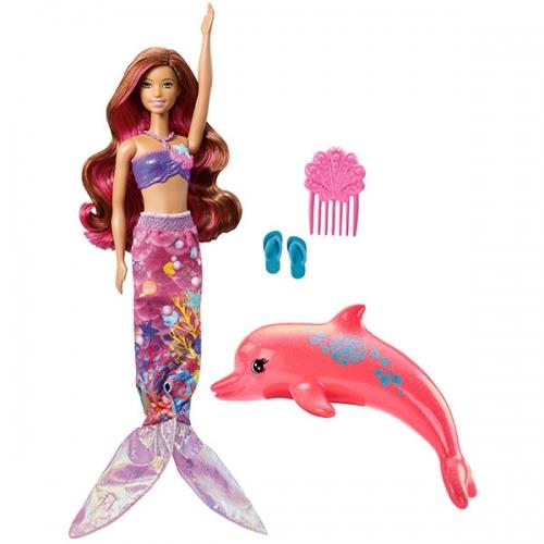 11.3 FBD64 Barbie.Сказочный мир.Русалочка 'Волшебная трансформация' Бишкек и Ош купить в магазине игрушек LEMUR.KG доставка по всему Кыргызстану