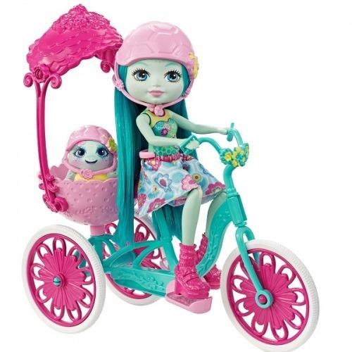 Игровой набор 'Энчантималс' - Прогулка на велосипеде Бишкек и Ош купить в магазине игрушек LEMUR.KG доставка по всему Кыргызстану