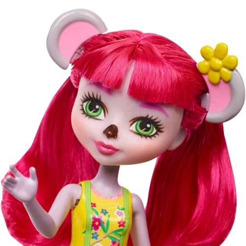Кукла 'Энчантималс' с питомцем - Карина Коала, 15 см. Бишкек и Ош купить в магазине игрушек LEMUR.KG доставка по всему Кыргызстану