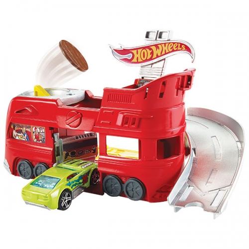 Игровой набор Hot Wheels 'Летающий гамбургер' Бишкек и Ош купить в магазине игрушек LEMUR.KG доставка по всему Кыргызстану