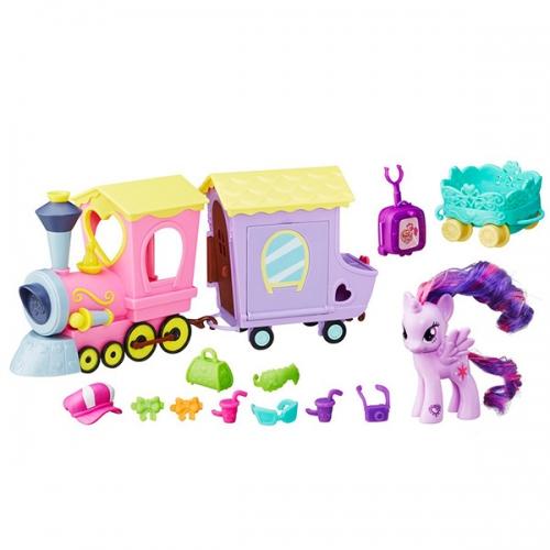 Игровой набор My Little Pony 'Поезд Дружбы' Бишкек и Ош купить в магазине игрушек LEMUR.KG доставка по всему Кыргызстану