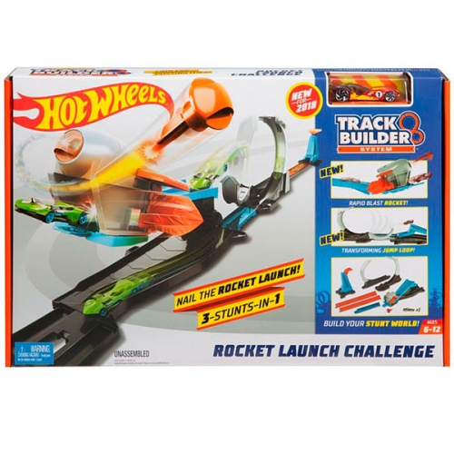 Игровой набор Hot Wheels 'Запуск ракеты' Бишкек и Ош купить в магазине игрушек LEMUR.KG доставка по всему Кыргызстану