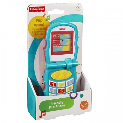 Первый музыкальный телефон Fisher-Price Бишкек и Ош купить в магазине игрушек LEMUR.KG доставка по всему Кыргызстану