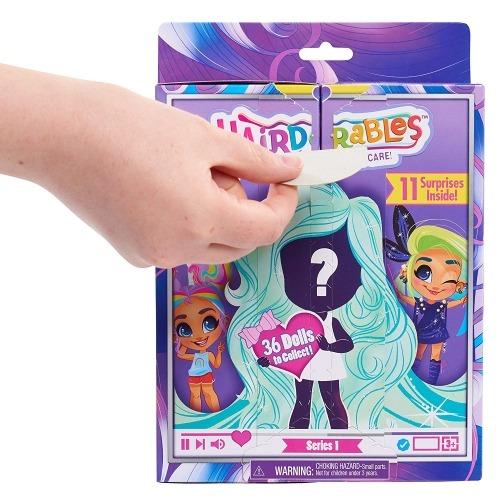Кукла-сюрприз Hairdorables (Хэадорблс) Бишкек и Ош купить в магазине игрушек LEMUR.KG доставка по всему Кыргызстану