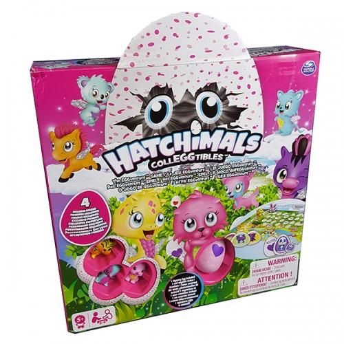 Настольная игра Hatchimals + 4 коллекционные фигурки Бишкек и Ош купить в магазине игрушек LEMUR.KG доставка по всему Кыргызстану
