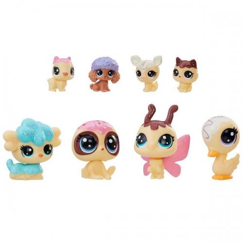 Набор Littlest Pet Shop 8 Зефирных петов Бишкек и Ош купить в магазине игрушек LEMUR.KG доставка по всему Кыргызстану