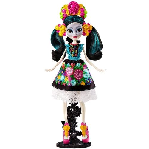 Коллекционное издание Monster High Скелита Калаверас Бишкек и Ош купить в магазине игрушек LEMUR.KG доставка по всему Кыргызстану