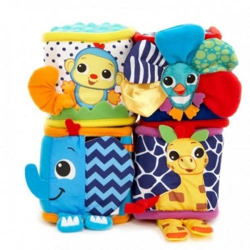 Веселые кубики с зверушками Little Tikes (в ассорт.) Бишкек и Ош купить в магазине игрушек LEMUR.KG доставка по всему Кыргызстану