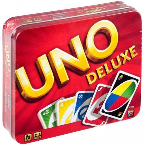 Настольная игра 'УНО Делюкс' Бишкек и Ош купить в магазине игрушек LEMUR.KG доставка по всему Кыргызстану