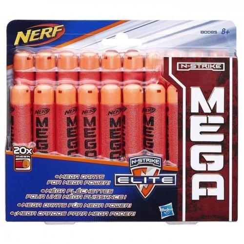 NERF Комплект 20 стрел для бластеров Мега Бишкек и Ош купить в магазине игрушек LEMUR.KG доставка по всему Кыргызстану