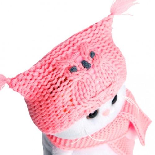Мягкая игрушка Кошечка Ли-Ли Baby в шапке-сова и шарфе Бишкек и Ош купить в магазине игрушек LEMUR.KG доставка по всему Кыргызстану