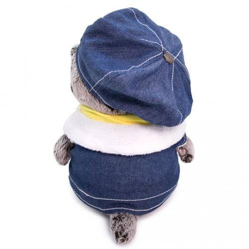 Мягкая игрушка Басик Baby в джинсовом жилете Бишкек и Ош купить в магазине игрушек LEMUR.KG доставка по всему Кыргызстану