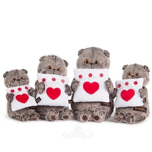 Мягкая игрушка Кот Басик с подушечкой Бишкек и Ош купить в магазине игрушек LEMUR.KG доставка по всему Кыргызстану