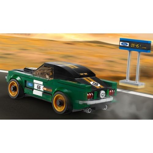 LEGO: 1968 Форд Мустанг Фастбэк Бишкек и Ош купить в магазине игрушек LEMUR.KG доставка по всему Кыргызстану