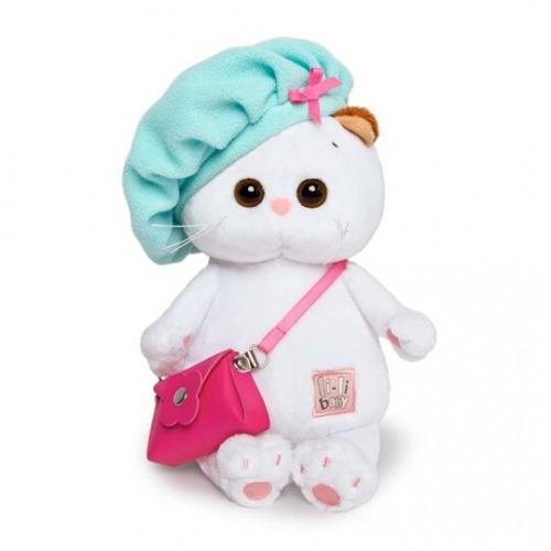 Мягкая игрушка Кошечка Ли-Ли Baby с сумочкой в берете Бишкек и Ош купить в магазине игрушек LEMUR.KG доставка по всему Кыргызстану
