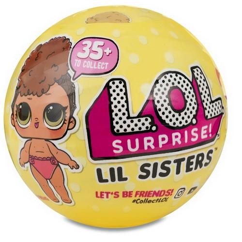 Кукла LOL Surprise 3 сезон 'Сестренка' (оригинал) Бишкек и Ош купить в магазине игрушек LEMUR.KG доставка по всему Кыргызстану