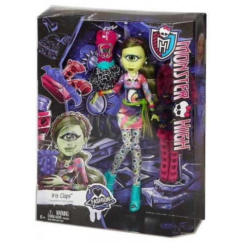Monster High Айрис Клопс 'Я люблю моду' Бишкек и Ош купить в магазине игрушек LEMUR.KG доставка по всему Кыргызстану