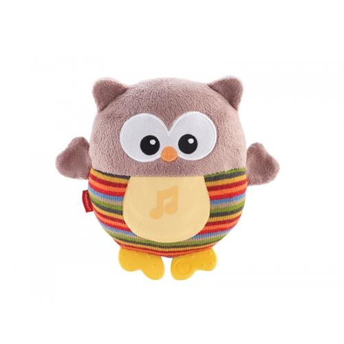 Игрушка для сна Fisher-Price 'Светящая Сова' Бишкек и Ош купить в магазине игрушек LEMUR.KG доставка по всему Кыргызстану