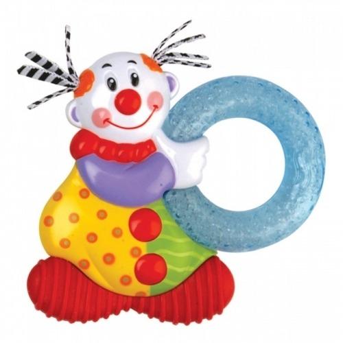 NUBY Прорезыватель с термогелем, формы 'Клоун' Бишкек и Ош купить в магазине игрушек LEMUR.KG доставка по всему Кыргызстану