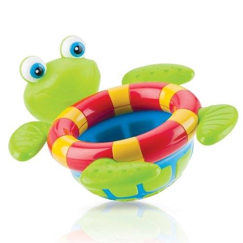 NUBY Игрушка для ванны 'Плавающая черепаха' Бишкек и Ош купить в магазине игрушек LEMUR.KG доставка по всему Кыргызстану