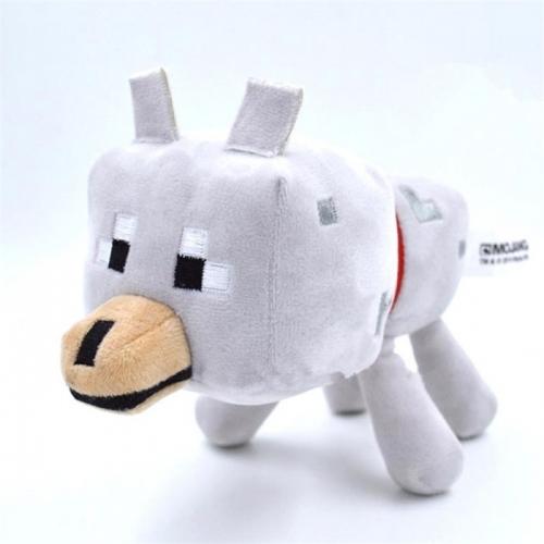 Мягкая игрушка Майнкрафт Волк Бишкек и Ош купить в магазине игрушек LEMUR.KG доставка по всему Кыргызстану