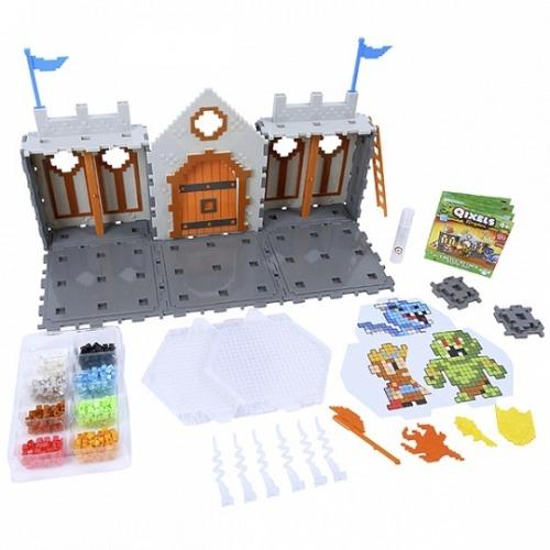 Qixels Набор для творчества Королевство. Захват замка. Бишкек и Ош купить в магазине игрушек LEMUR.KG доставка по всему Кыргызстану