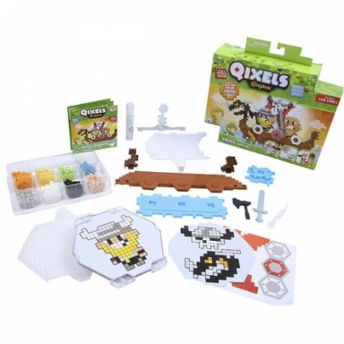 Qixels Набор для творчества Королевство. Викинги. Бишкек и Ош купить в магазине игрушек LEMUR.KG доставка по всему Кыргызстану